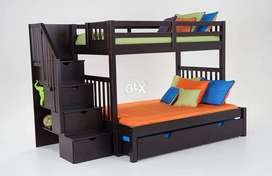 Bunk Bed for kids in Lahore Solid Pure Wood