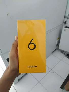 Realme 6 4GB Biru komet (quad camera 64mp )