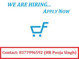 We are hiring for the candidates for various position