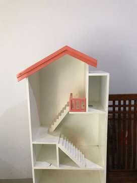 GERCEP pindahan: lemari mainan anak finishing duco
