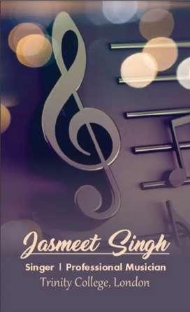 Music classes-Singing, Guitar, Piano, Violin