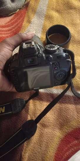3100 D Nikon 70-300 lens ३ month warranty
