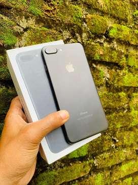 Iphone 7 plus 128 gb fullset mulus bergaransi