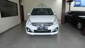 ERTIGA 1.4 GX AT 17 PUTIH 100% ORS CAT NO REPAINT NIK 16 KM42RB ASLI