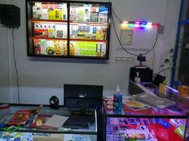 Mobile shop cash counter
