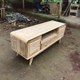 meja tv kayu sederhana VQ1916