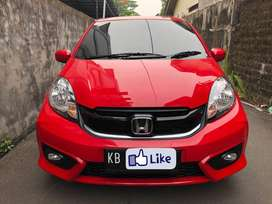 PROMO MURAH! Honda Brio Satya 1.2 E Manual 2018 Merah