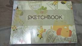 Sketchbook KIKY Original Buku Gambar Anak A4 50 sheets