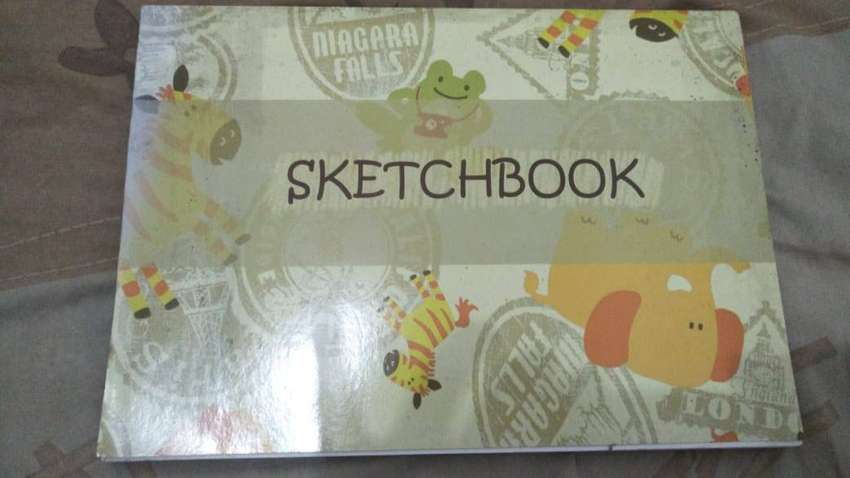 Sketchbook KIKY Original Buku Gambar Anak A4 50 sheets 0