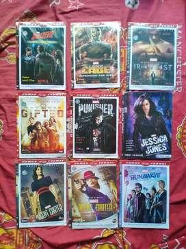 Kaset DVD TV Series Marvel