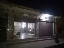 The vacant space for office and shop