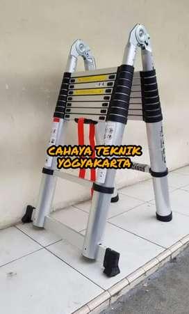 (CAHAYA TEKNIK JOGJA) tangga teleskopic model a tangga telkom