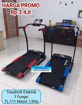 Treadmill Elektrik 1 Fungsi Harga Super Murah