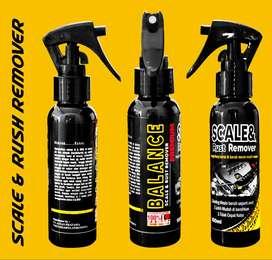 SCALE & RUST Remover,Untuk ATASI KERAK/KARAT di Mesin MOBIL/MOTOR anda
