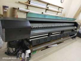 Flex banner printing machine xaar 128x 8 head