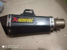 Akrapovic copy exhaust