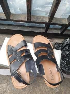 sepatu sandal fladeo size 41 bekas mulus