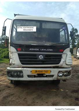 ASHOK LEYLAND MAKE MODEL 2018 U TRUCK 12 WHEELER 3123