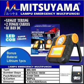 Lampu Emergency LED COB AC dan DC MS-509 Mitsuyama