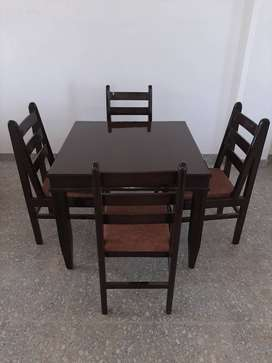 2, 4, 6 seater dinning available in solid wood and ply