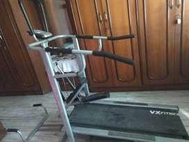 3in1 Treadmill (manual) Stepper & Push up bars