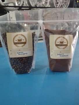 Kopi robusta temanggung biji/ bubuk 250gr