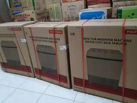Mesin cuci polytron 2 tabung kapasitas 7 kg