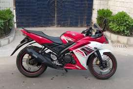 Sale awesome condition Yamaha R15-S bike 68k.