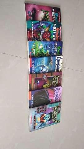 GOOSEBUMPS (PACK OF 7 BOOKS)