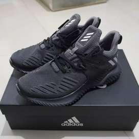 Sepatu Adidas Alphabounce Beyond 2 M Original TripleBlack Grey