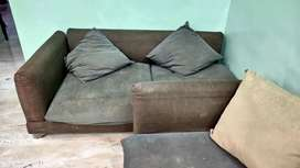 One Year Old L shape Sofa