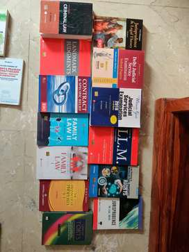Law books- sets for judiciary examination, CLAT and law textbooks