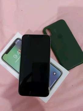 Iphone x 64GB white fullset
