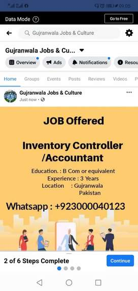 Inventory Controller / Accountant