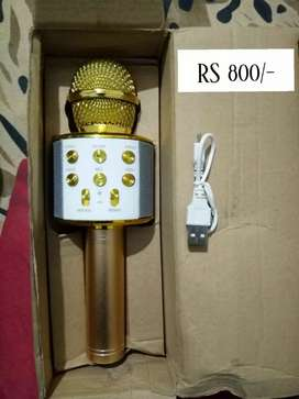 Wireless Microphone (Rechargeable) HIFI Speakers Ws 858