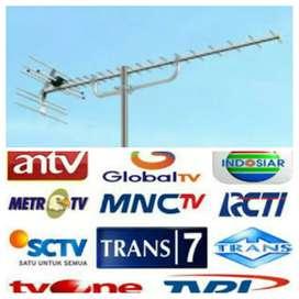 Antena tv \ pasang antena tv
