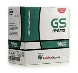 delivery aki gs astra basah 45 ah yaris,new yaris,sienta,vios,limo