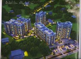 3 bhk new society flat at hesag available for sale 65.23 lac/-