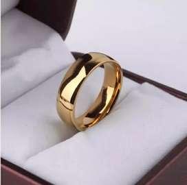 Cincin Nikah - Tunangan ( Garansi 1 - 10 Th Warna Luntur Ganti Baru )