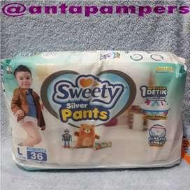 Sweety Silver Pants