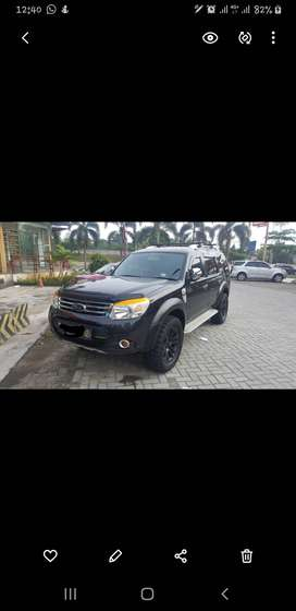 FORD EVEREST FULL BLACK