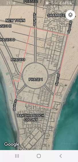 Gawadar Phase 1 ,A11-1 New town near Telephone exchange