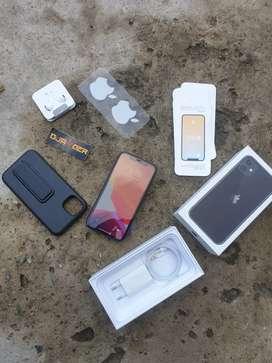 Iphone 11 64 Resmi ibox umur 3 minggu