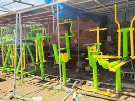 Double Swing Board Alat Fitness Outdoor | Alat Fitness Taman