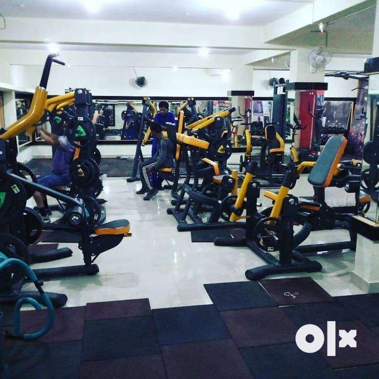 gym setup high class setup commercial