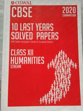 Class 12th humanities solved papers