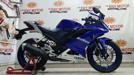 Update unit terbaru r15 v3 biru - eny Motor