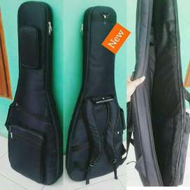 Gigbag gitar elektrik busa tebal anti air