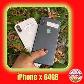 SECOND IPHONE X 64 GB EKS INTER - FULLSET