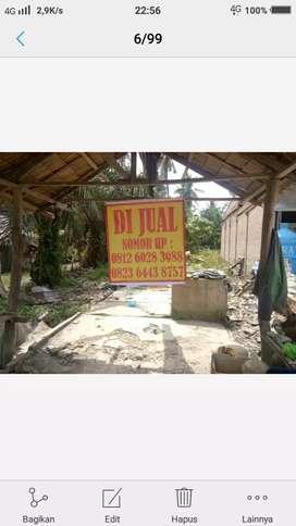 Dijual tanah pinggir jalan lintas Ajamu